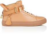 Buscemi WOMEN'S 100MM CLIP-STRAP LEATHER SNEAKERS