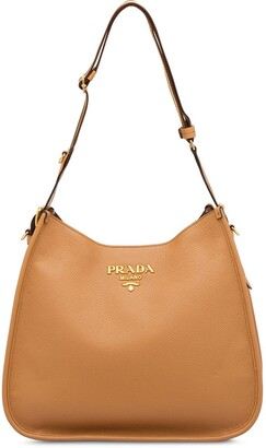 Prada Large Logo Shoulder Bag