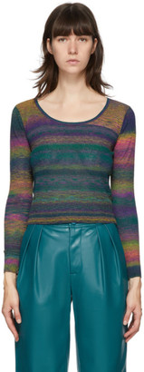 Simon Miller Multicolor Amo Scoop Neck Sweater