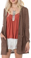 O'Neill Chevron Knit Cardigan