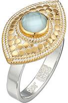 Anna Beck Aquamarine Evil Eye Ring