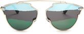 Christian Dior So Real tri-colour sunglasses