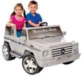 Kid Motorz Mercedes Benz G55 AMG 2-Seater 12-Volt Ride-On in Silver