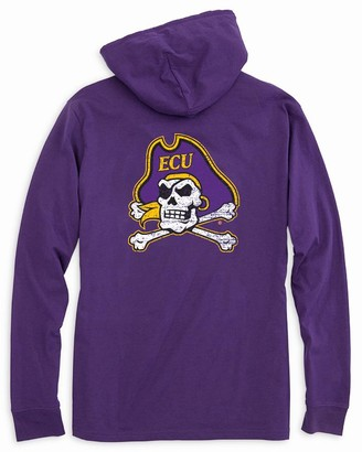 Southern Tide East Carolina Long Sleeve Hoodie T-Shirt