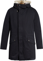 Yves Salomon Fur-lined cotton-canvas parka