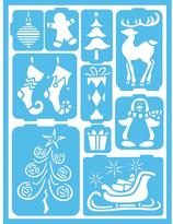 Americana Whimsical Christmas Self-Adhesive Stencil
