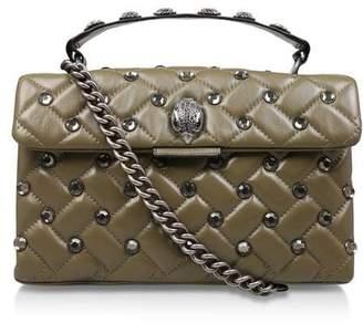 Kurt Geiger London Leather Kensington X Body Bag