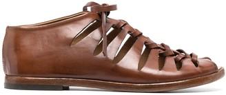 Alberto Fasciani Cut-Out Detail Sandals