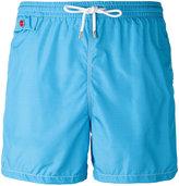 Kiton flap pocket swim shorts - men - Polyester - L