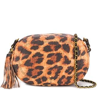Jerome Dreyfuss Marc leopard-print camera bag