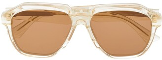 Bottega Veneta BV1034S geometric sunglasses