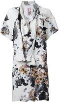 Antonio Marras printed draped blouse - women - Spandex/Elastane/Viscose - 42