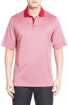Bugatchi Men's Short Sleeve Cotton Polo
