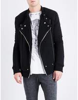 Balmain Biker wool-blend jacket