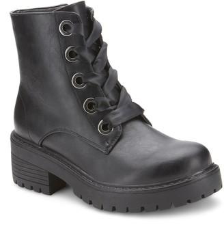 OLIVIA MILLER Lodi Women's Chunky Heel Boots