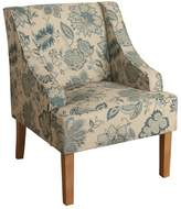 HomePop Lexie Swoop Arm Accent Chair