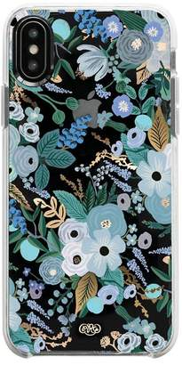 Rifle Paper Co. RIFLE GARDEN PARTY BLUE IPHONE XS MAX CASE