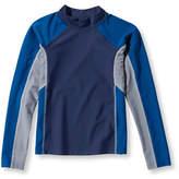 L.L. Bean Boys Sun-and-Surf Shirt, Long-Sleeve Colorblock