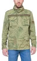 Desigual Men's CHAQ_QUEPI Coat,XX-Large