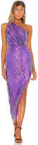 Mason by Michelle Mason One Shoulder Dress