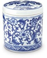 Williams-Sonoma Williams Sonoma Blue & White Ceramic Canister, Extra Small