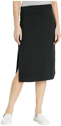 Toad&Co Samba Paseo II Midi Skirt (Black) Women's Skirt