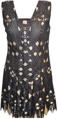 Anna Sui Black Lace Dress for Women