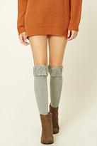 Forever 21 FOREVER 21+ Over-The-Knee Lace Socks