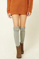 Forever 21 Over-The-Knee Lace Socks
