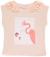 Billieblush Sale - Pink Flamingi Iridescent T-Shirt