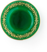 Neiman Marcus Hand Painted Holiday Dinner Plates, Set of 4