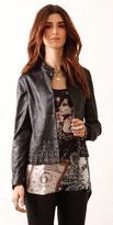 SW3 - Grommet Radley Faux Leather Jacket