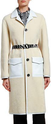 Marni Shearling Duster Coat