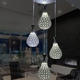 XUEXIN Home XUEXIN 4 modern chandelier Crystal/LED/contemporary living/bedroom/dining room/kitchen hardware