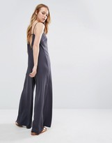 NATIVE YOUTH Strap Back Casual Jumpsuit