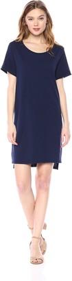 LAmade Women's Rolled Sleeve t Shirt Dress
