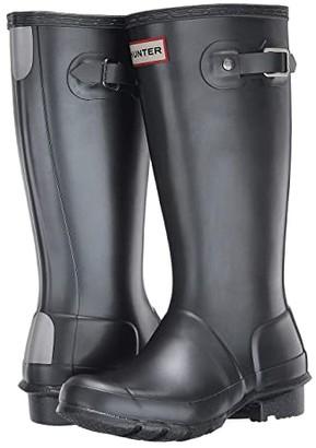 Hunter Original Nebular (Little Kid/Big Kid) (Black) Kids Shoes