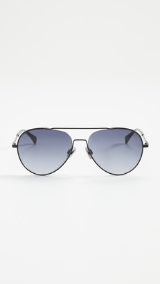 Rag & Bone Classic Aviator Sunglasses