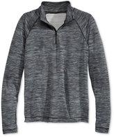 Ideology Noir Space-Dye Zip-Neck Jacket, Big Girls (7-16), Only at Macy's