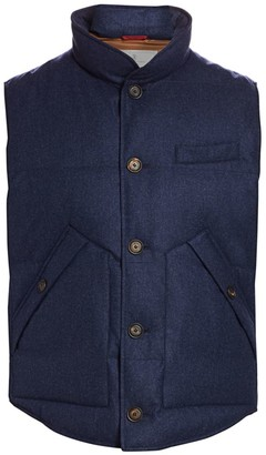 Brunello Cucinelli Goose Down Puffer Vest