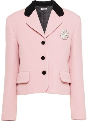 Miu Miu Tailored Wool Jacket