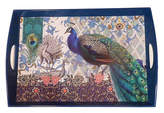 Michel Design Works Peacock Wooden Tray