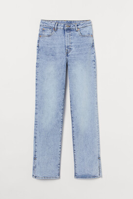 H&M Straight Vintage High Jeans