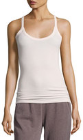 ATM Anthony Thomas Melillo Modal Rib Scooped Muscle Tank, Pink
