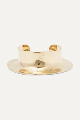 ARIANA BOUSSARD-REIFEL Despina Gold-tone Cuff - one size