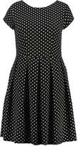 Closet Curves Summer dress black/white
