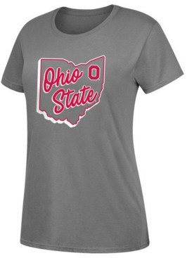 Top of the World Women's Ohio State Buckeyes State Dual Blend T-Shirt