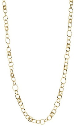 Ippolita Classico Long 18K Yellow Smooth Chain Necklace