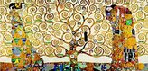 Gustav 1art1 Posters Klimt Poster Art Print - The Stoclet Frieze (39 x 20 inches)