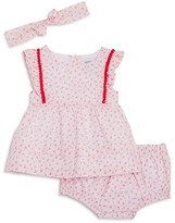 Absorba Infant Girls' Dress, Bloomers & Headband Set - Sizes 0-9 Months